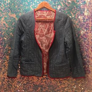Jackets & Blazers - Reversible Quilted Jacket